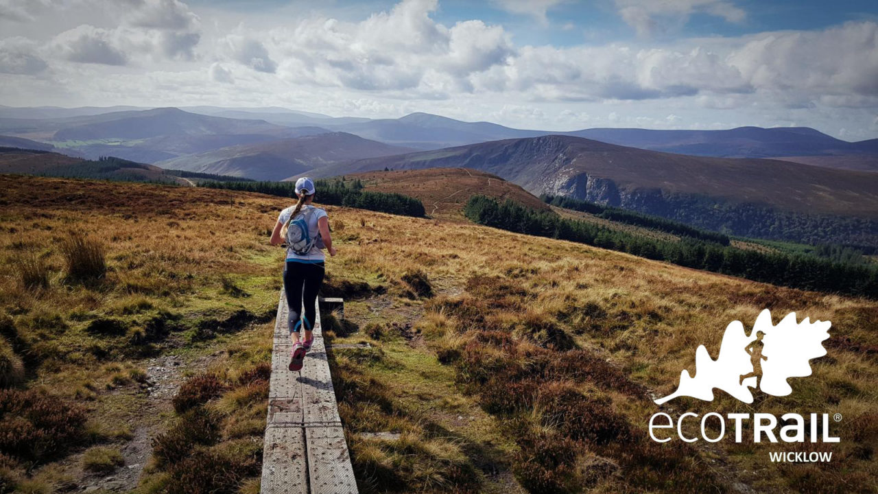 Trail Running in the Wicklow Mountains with EcoTrail
