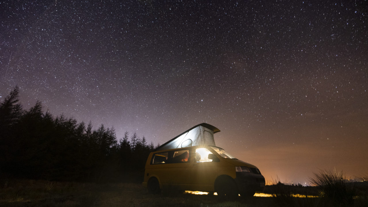 Lazy Days Camper Hire Accommodation for Wicklow Eco Trail