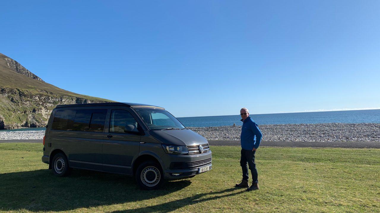 Flint Lazy Days VW Camper Hire Achill Island Mayo Ireland