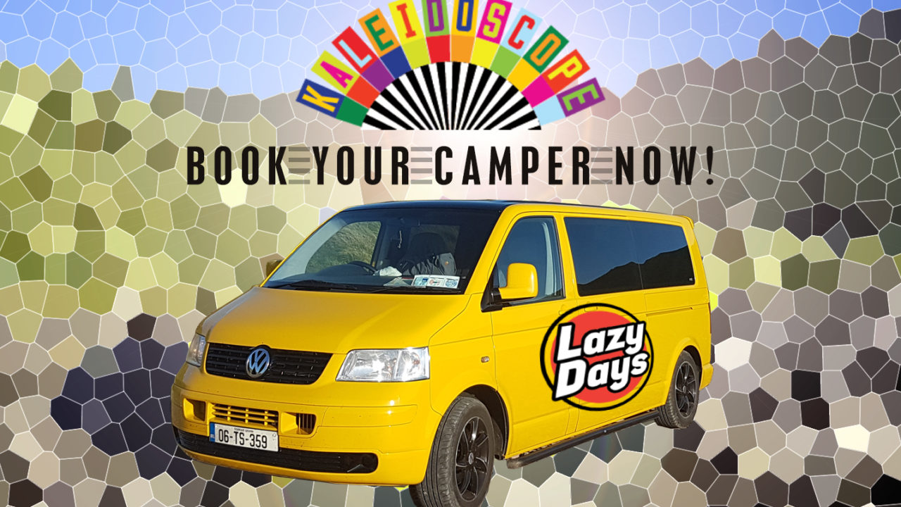 Lazy Days Offers Campervan Hire for Kaleidoscope Festival