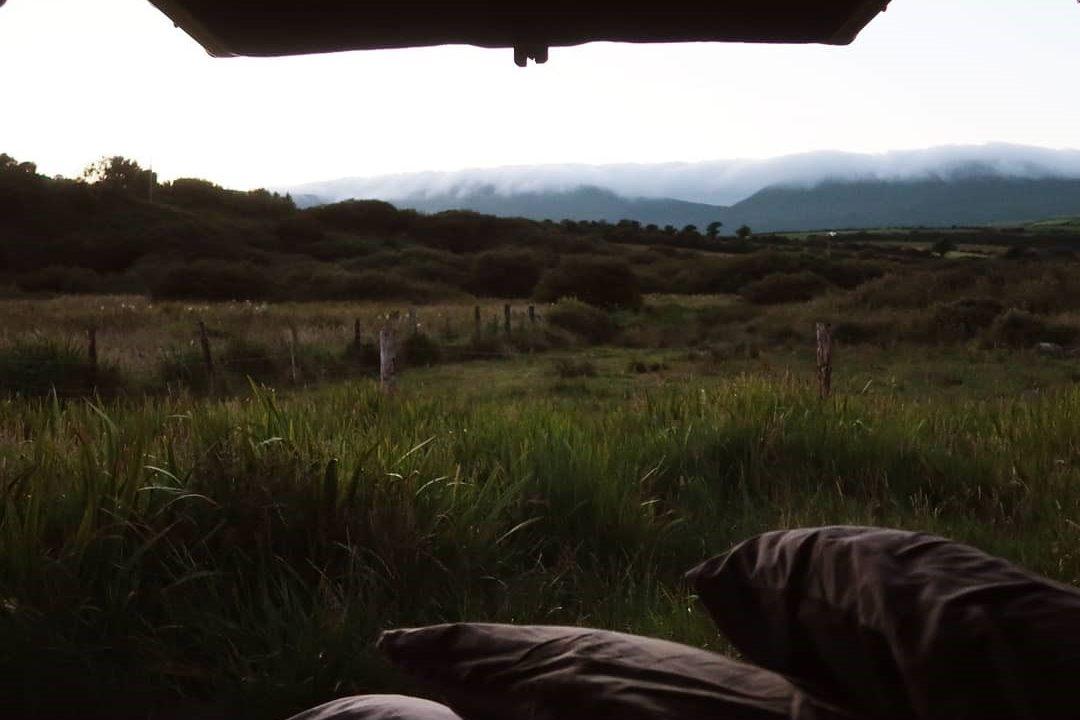Misty Morning Wild Camping Lazy Days VW Camper