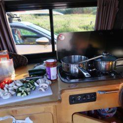 Road Trip Cooking Campervan