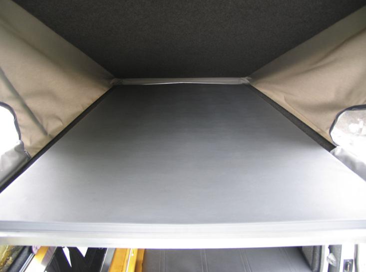 Camper Conversion Pop Top Roof Bed