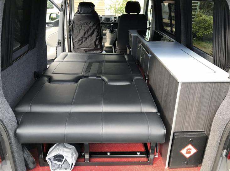 Flint VW Camper Lower Bed Camper Conversion