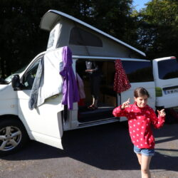 Camping at Lough Key