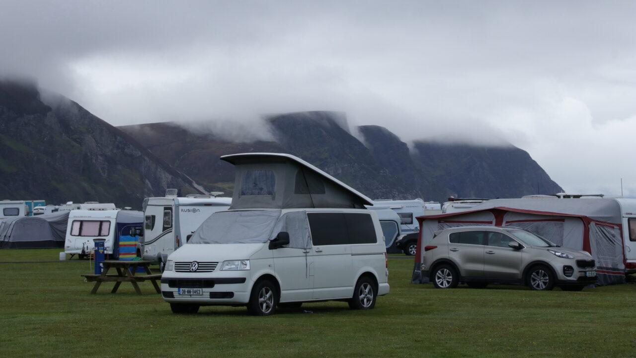Camping Keel, Achill Island